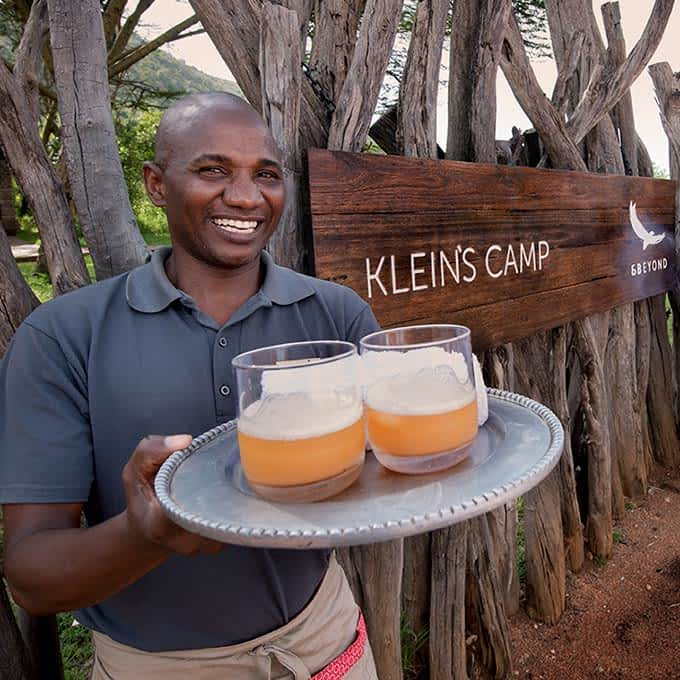 andBeyond Klein's Camp in the Serengeti