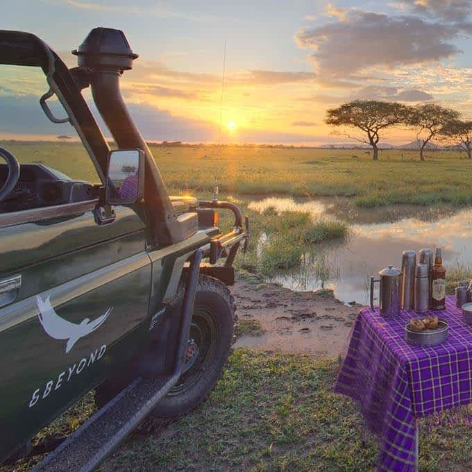 andBeyond Grumeti Serengeti Tented Camp offers a luxury safari experience in the Serengeti