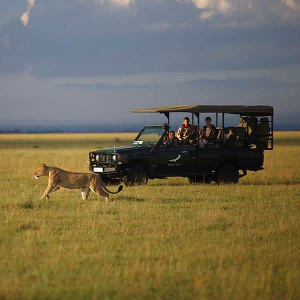 Grumeti Game Reserve in Serengeti Tanzania