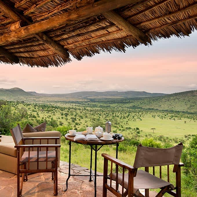 View from Klein's Camp in the Serengeti