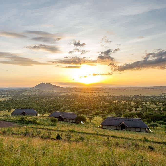 Stay at Kubu Kubu Tented Lodge in the Serengeti in Tanzania