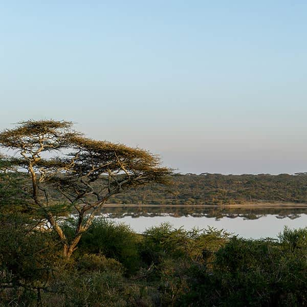 Lake Masek near Ndutu in Serengeti