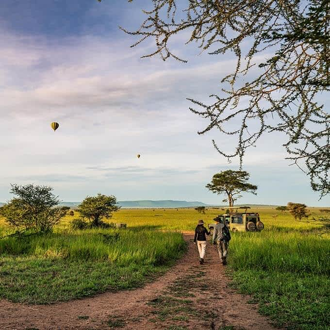 Lemala Ewanjan Tented Camp offers an authentic bush experience in the Serengeti in Tanzania