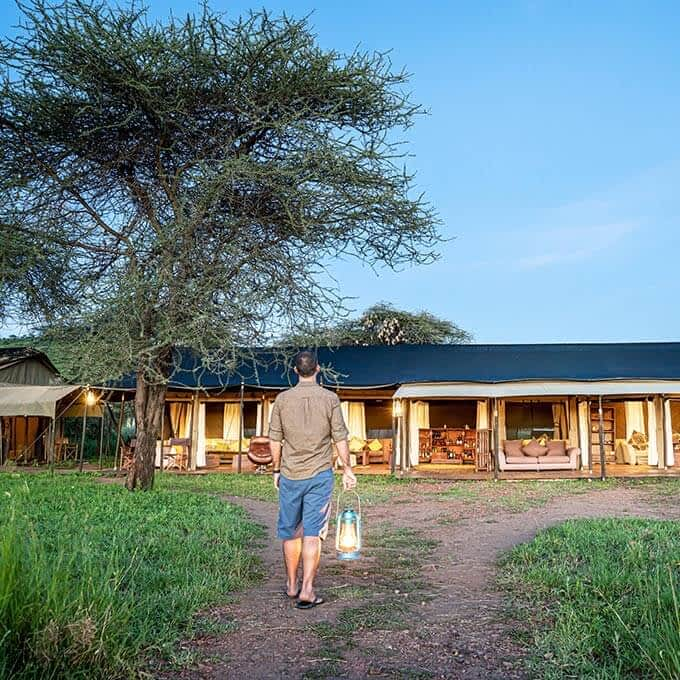 Lemala Ewanjan Tented Camp is an intimate tented camp in the Serengeti in Tanzania