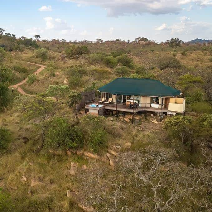 Lemala Kuria Hills Lodge is a luxury safari lodge in Serengeti National Park in Tanzania
