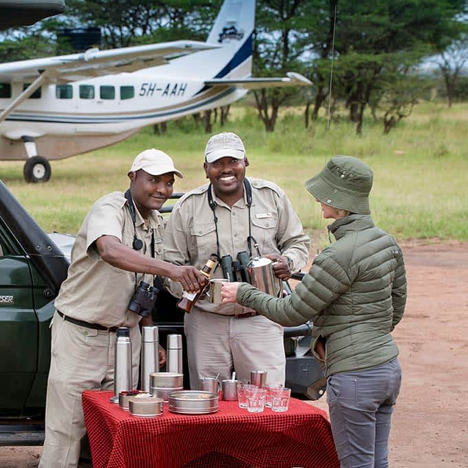 Enjoy a luxury Serengeti safari at Klein's Camp