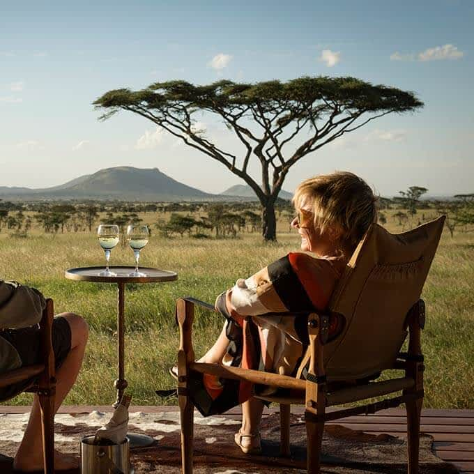 Siringit Serengeti Camp for a luxury Tanzania safari