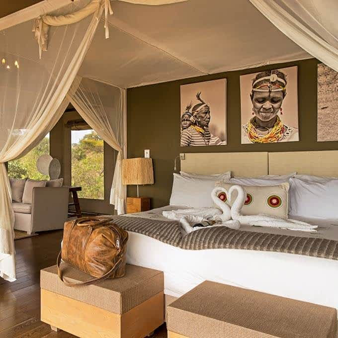 Your luxury suite at Lemala Kuria Hills Lodge in the Serengeti