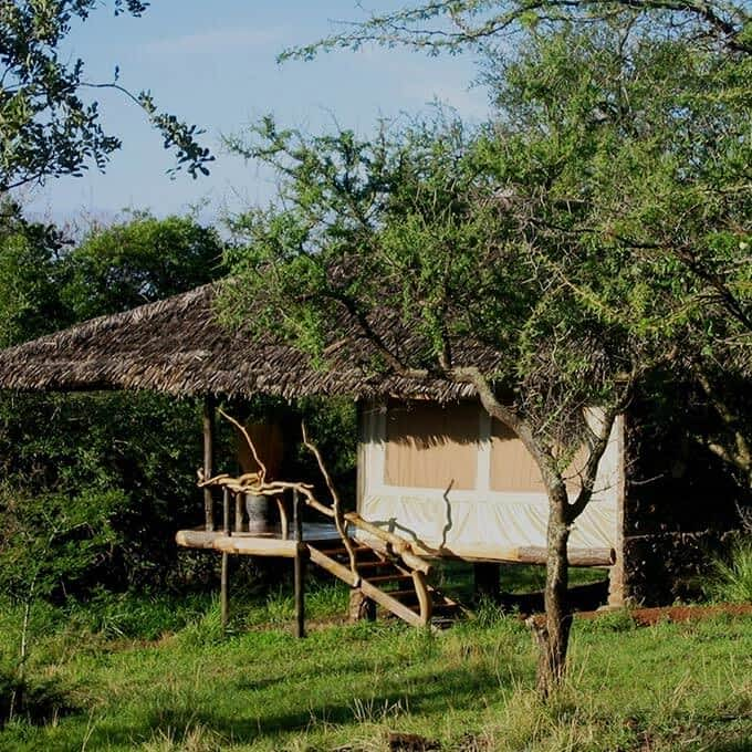 Mbalageti Serengeti offers tented chalets in Serengeti National Park