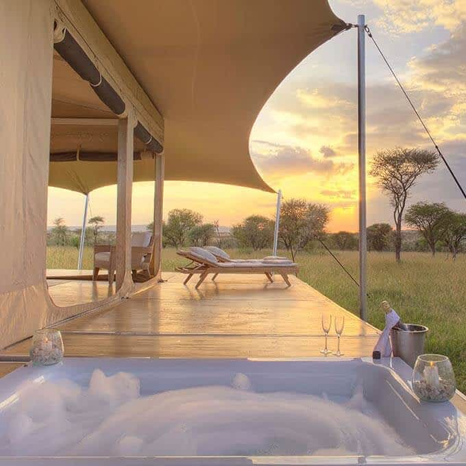 Stay at Roving Bushtops in the Serengeti for the ultimate mobile safari experience