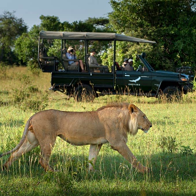 Serengeti safari at andBeyond Klein's Camp