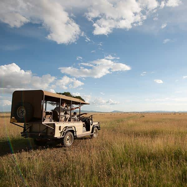 Grumeti Game Reserve in Serengeti National Park