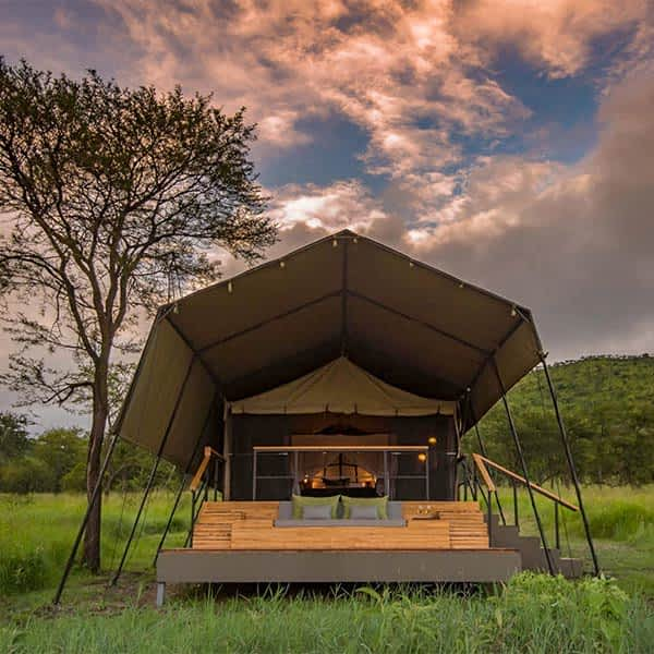 Serengeti safari lodges and camps
