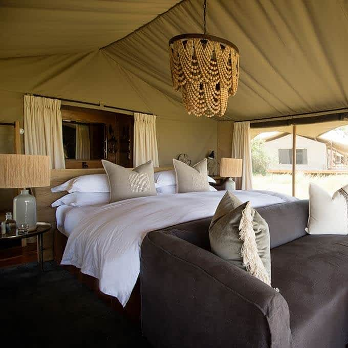 Siringit Serengeti Camp offers you a luxury safari experience in Tanzania