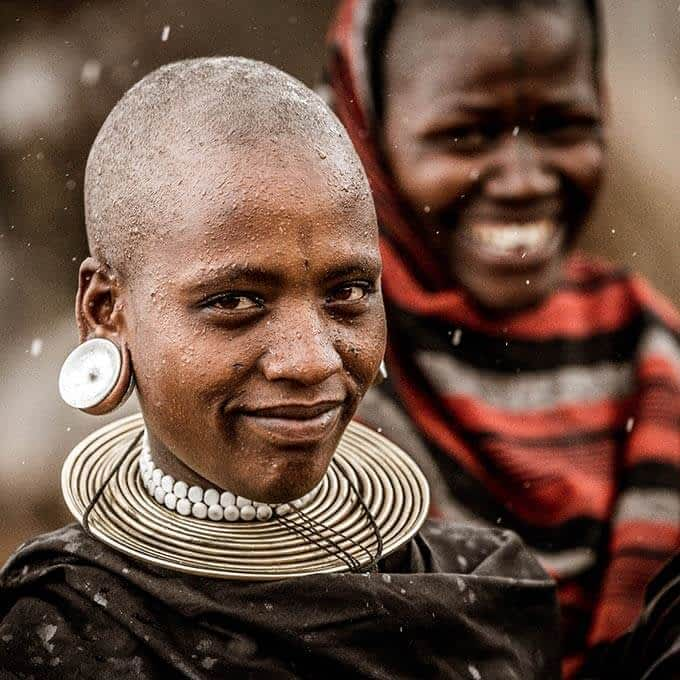 Meet traditional tribes in Tanzania during your stay at Mwiba Lodge